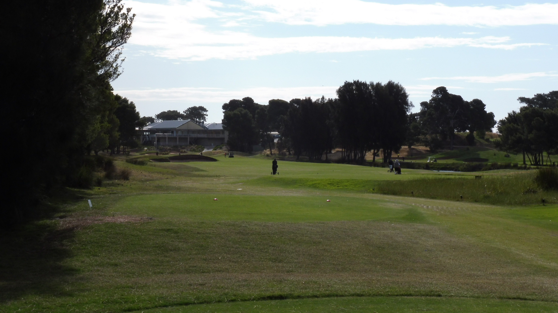 glenelg golf club 18th tee aussie golf quest. Black Bedroom Furniture Sets. Home Design Ideas