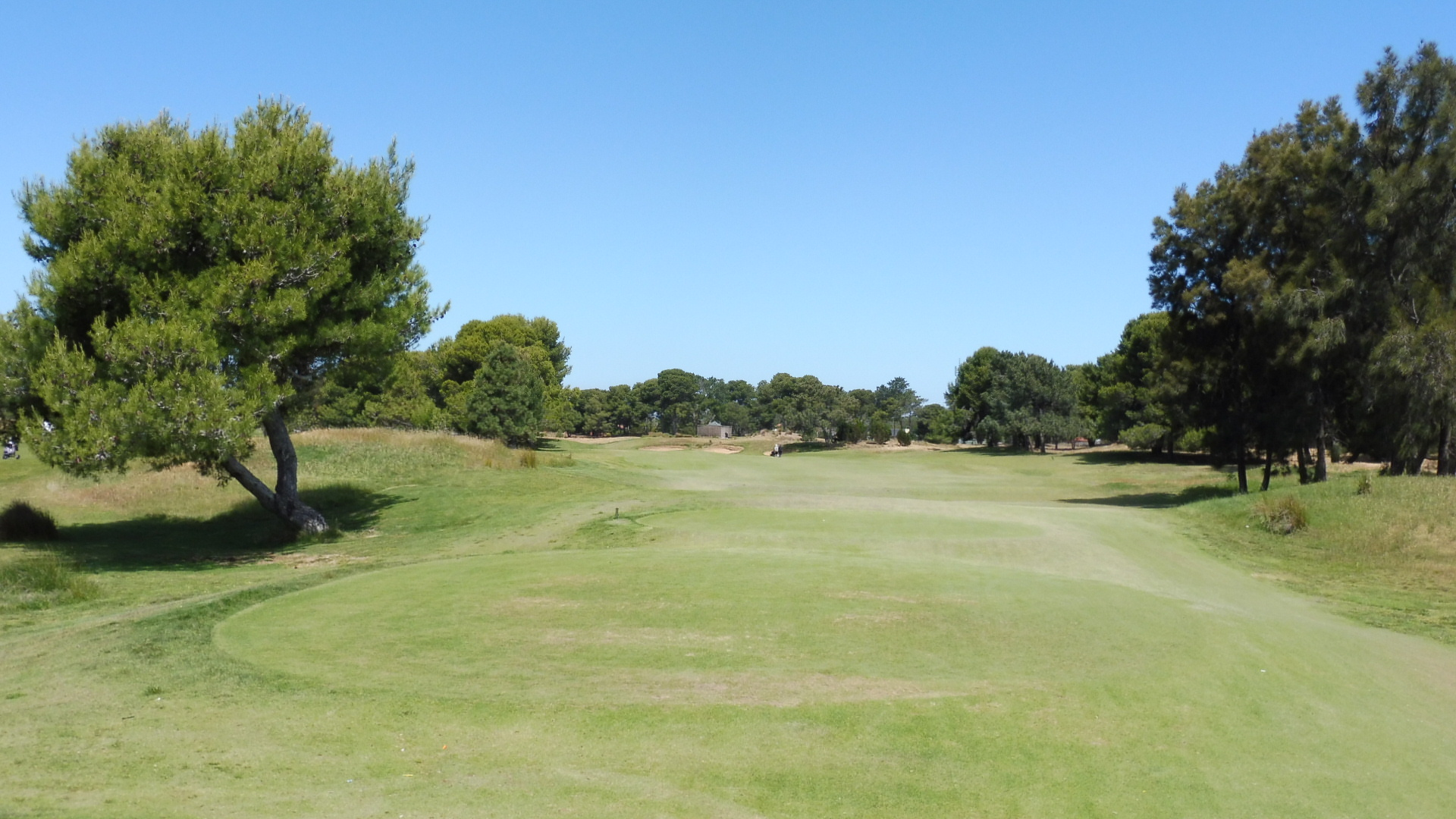 glenelg golf club 6th tee aussie golf quest. Black Bedroom Furniture Sets. Home Design Ideas